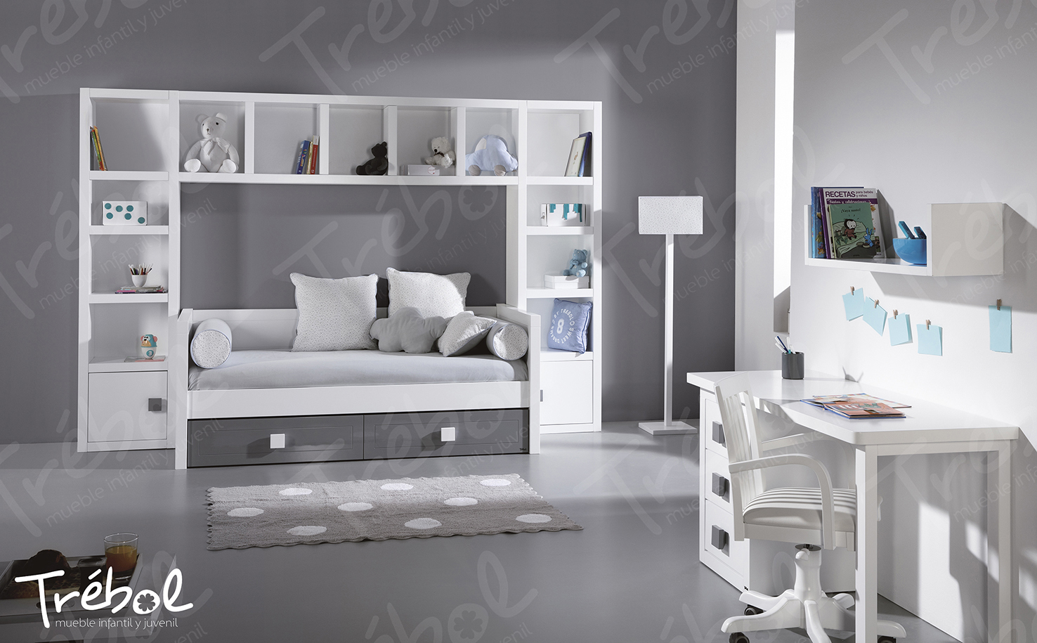 Juvenil 14 tr bol mobiliario tienda decoraci n valencia interiorismo valencia - Mobiliario infantil valencia ...